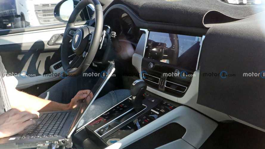 New Porsche Macan Spy Shots Give Glimpse Of Revamped Interior Design