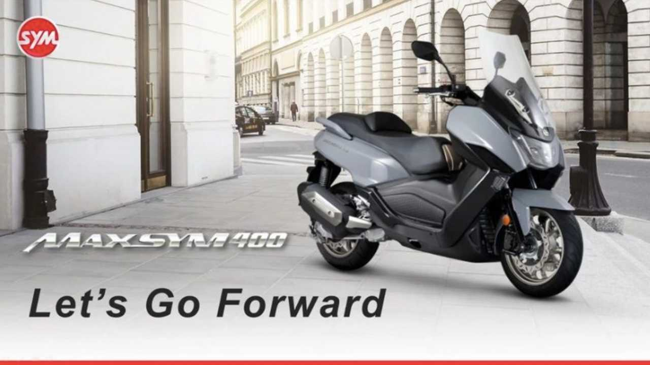 All-New SYM Maxysm 400 Scooter Makes Its Debut