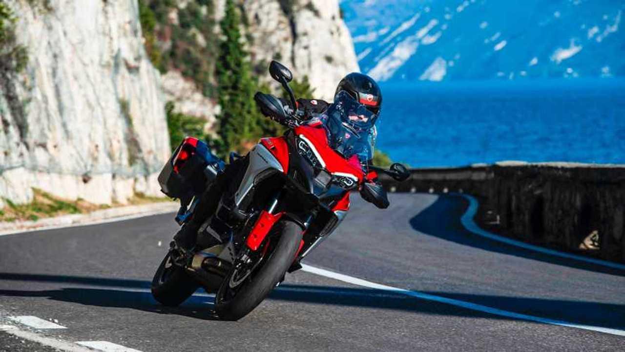Ducati Multistrada V4 sudah terkirim sebanyak 5000 unit.