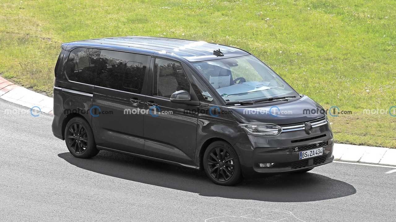 VW T7 spied on the Nurburgring