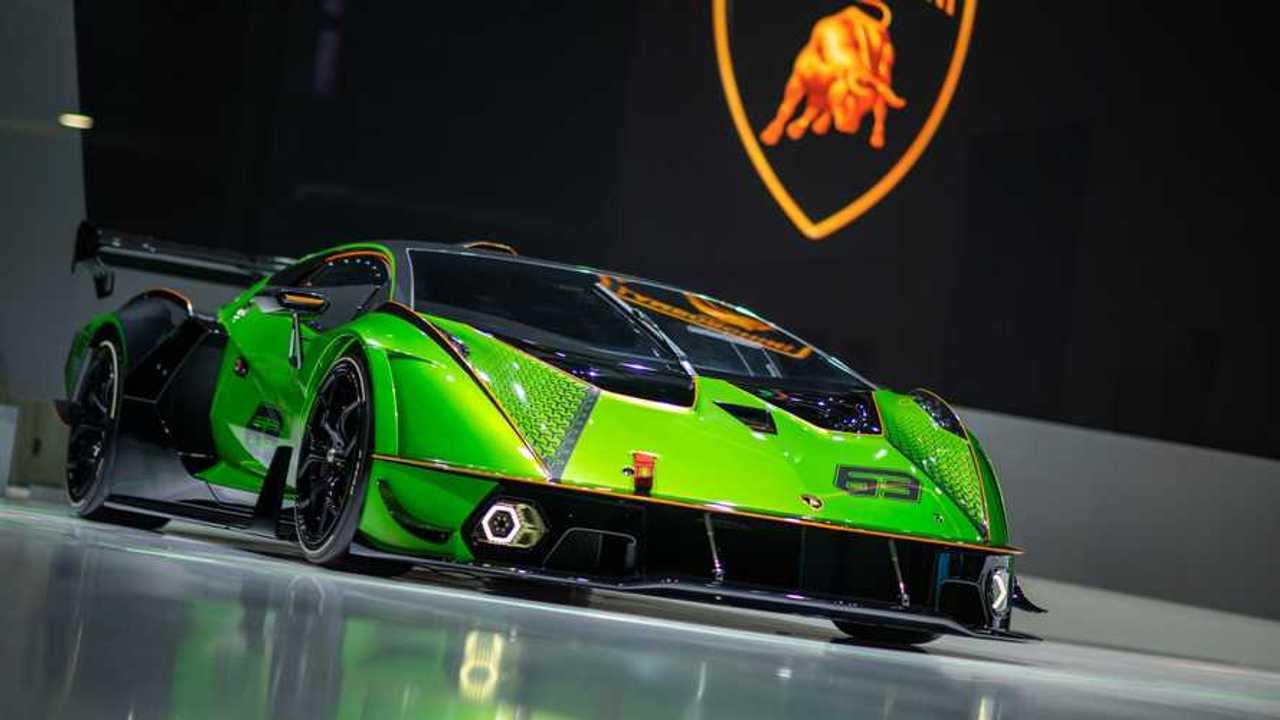 Lamborghini al Salone di Shanghai 2021
