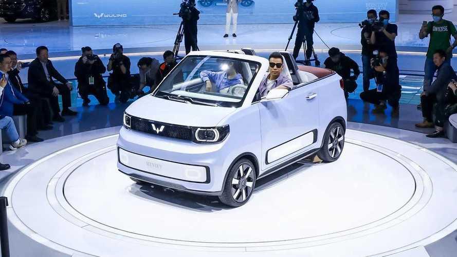 2021 Auto Shanghai: Wuling Hong Guang MINI EV Cabrio