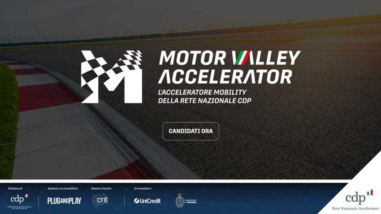 Motor Valley Accelerator, al via le selezioni di startup
