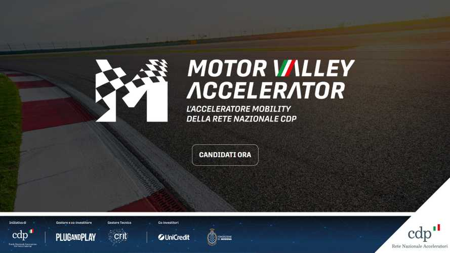 Motor Valley Accelerator 2021, al via le selezioni di startup