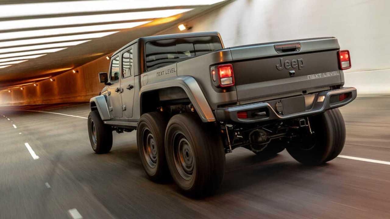 Next Level Jeep Gladiator 6x6