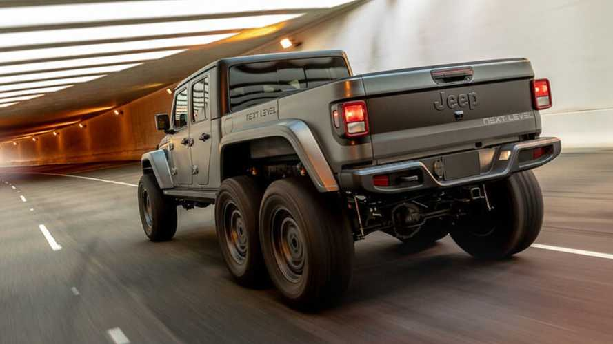 Jeep Gladiator Gets Another Crazy 6x6 Next Level Conversion