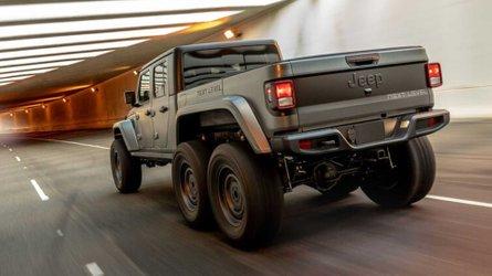 Jeep Gladiator 6x6 wird bald offiziell beim Jeep-Händler verkauft