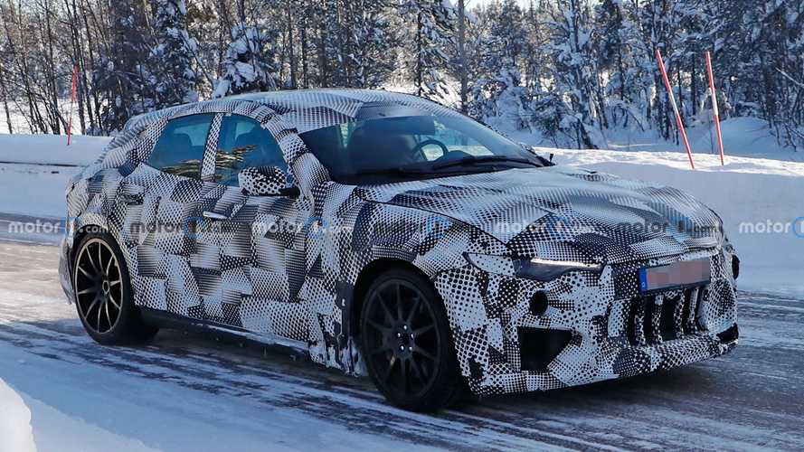 Ferrari Purosangue Spied Wearing A Maserati Coat In The Swedish Snow