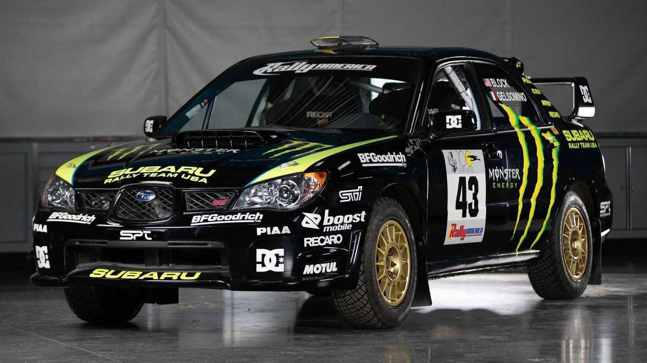 La Subaru WRX STi de Ken Block à vendre aux enchères