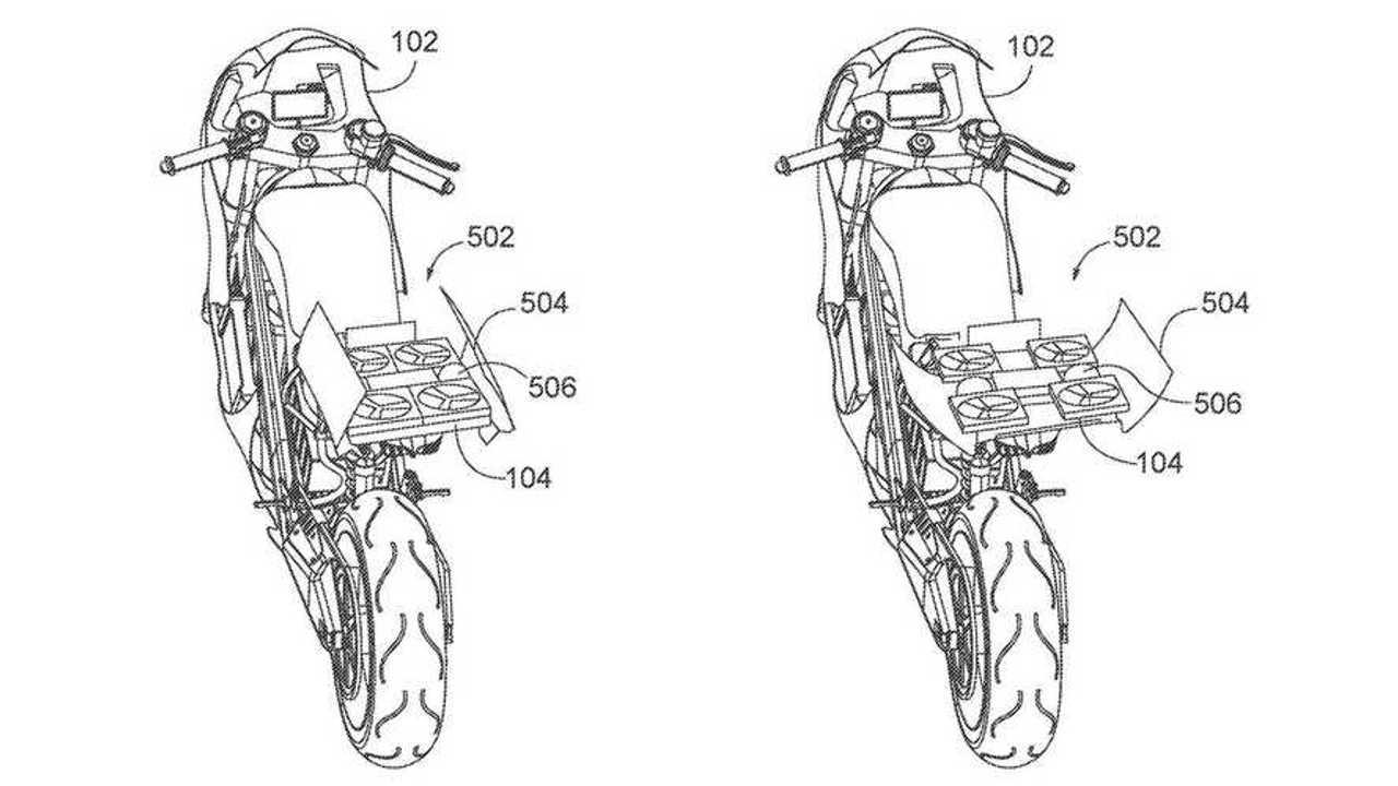 Honda Drone Bike Patent - Main