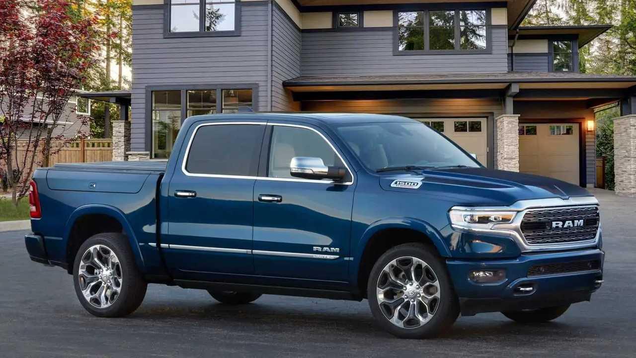 2022 Ram 1500 pickup truck.