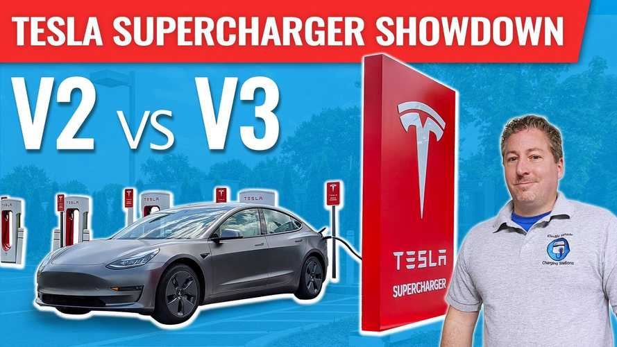 Tesla Supercharger Showdown: Is V3 Really Much Faster Than V2?