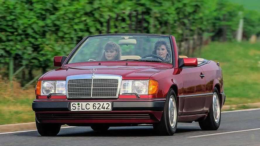 Mercedes-Benz Cabriolets der Baureihe 124 haben 1991 Premiere