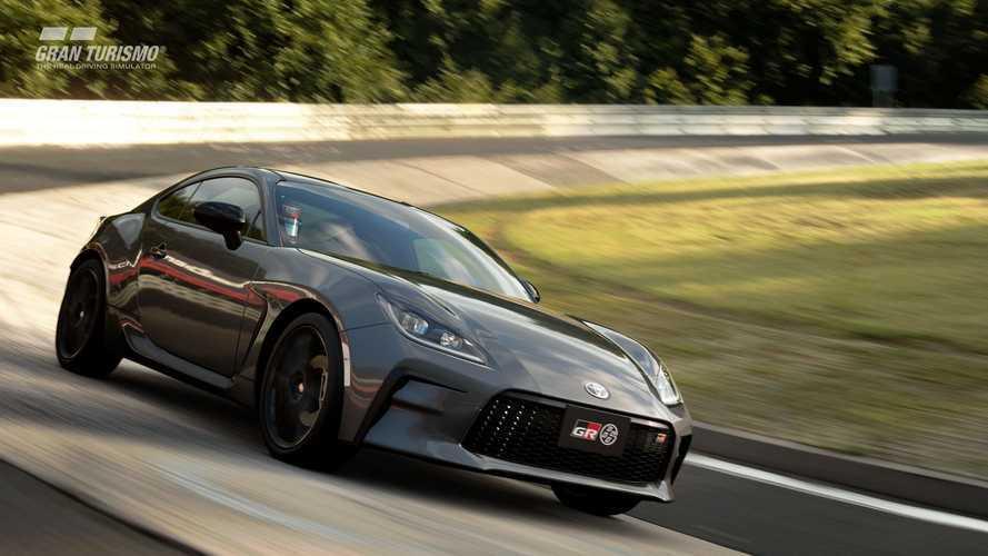 2022 Toyota GR 86 da artık Gran Turismo Sport'da
