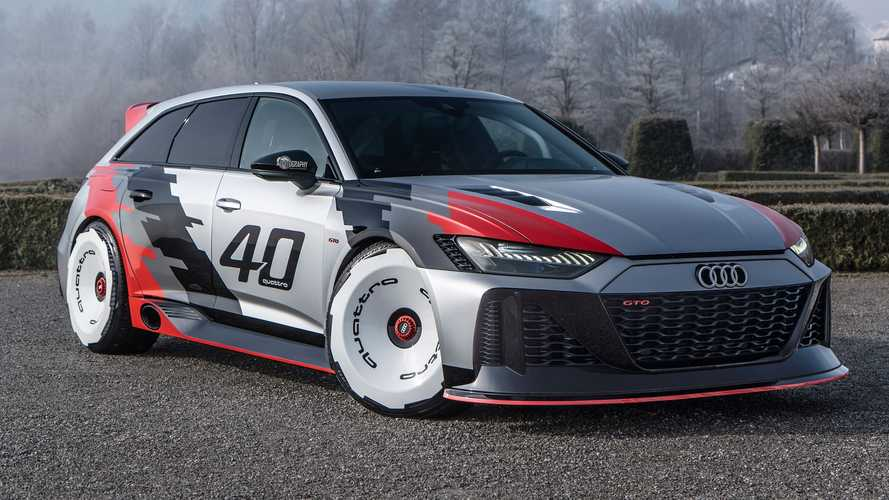 Audi RS6 GTO Returns In Video To Show Spectacular Design, Side Exhaust