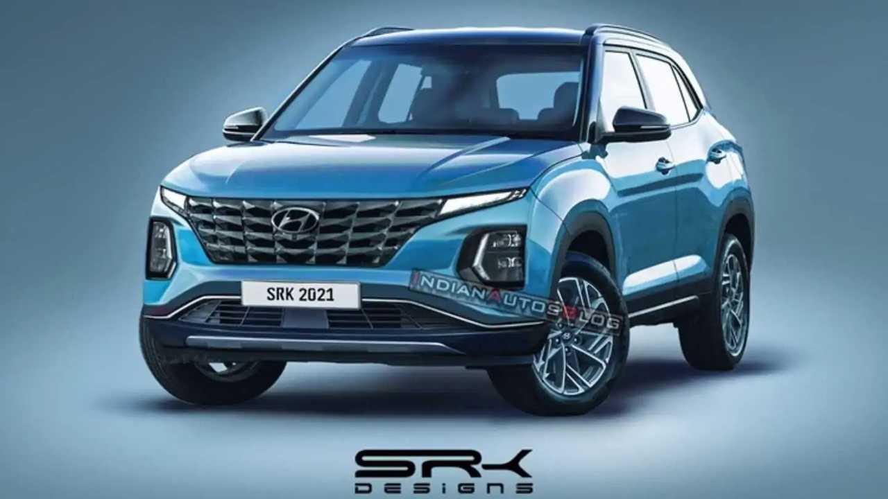 Novo Hyundai Creta Facelift - Projeção