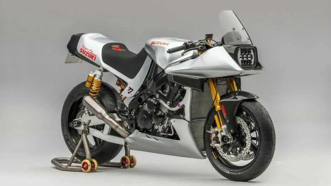 Suzuki Katana custom 2021 del Team Classic de la marca