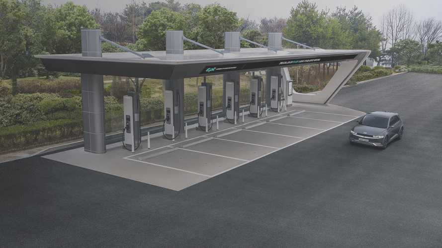 E-pit Charging Infrastructure