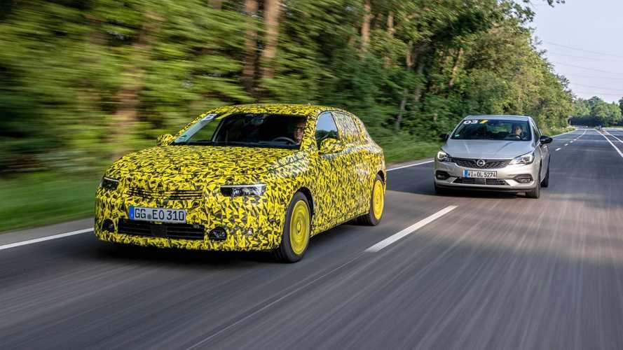 Opel Astra L (2021) als Prototyp im Test
