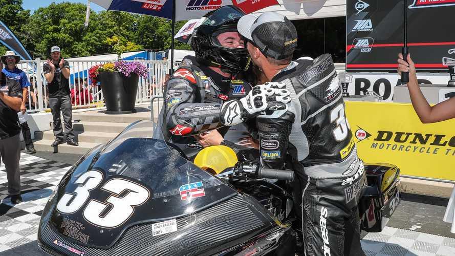 Harley-Davidson Sweeps King Of The Baggers Podium At Road America