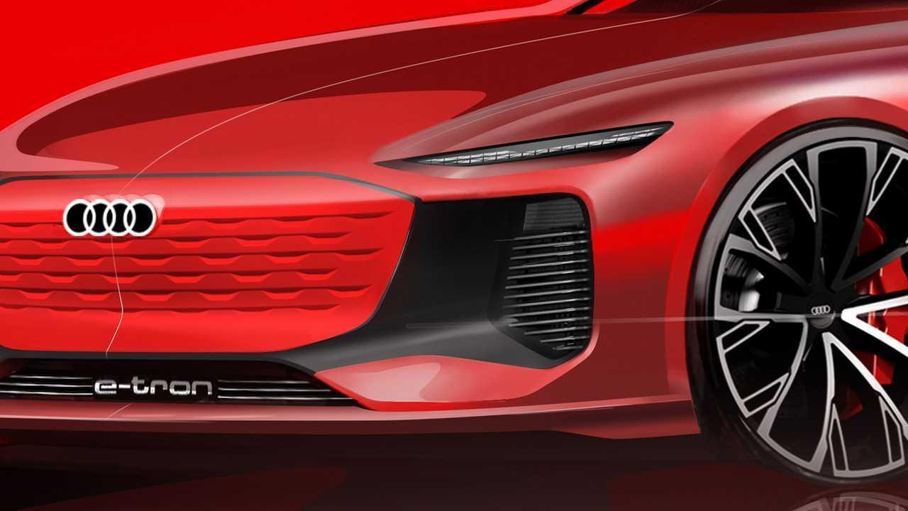 Audi E-Tron Teaser Shanghai