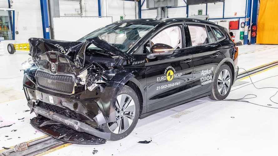 Skoda Enyaq und VW ID.4 holen fünf EuroNCAP-Sterne