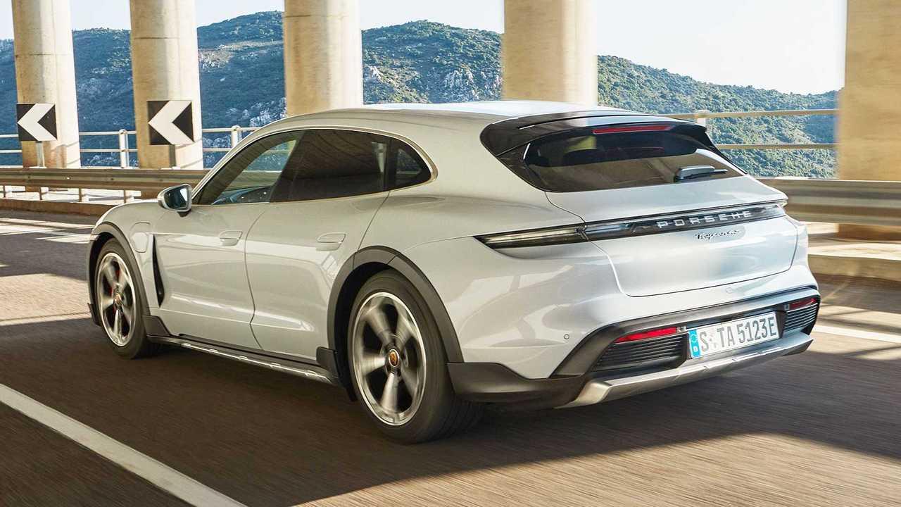 Mit dem Cross Turismo stellt Porsche stellt eine zweite Taycan-Karosserievariante vor
