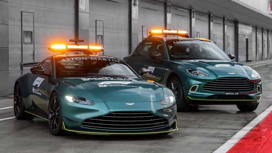 Official Formula 1 Aston Martin Safety And Medical Cars