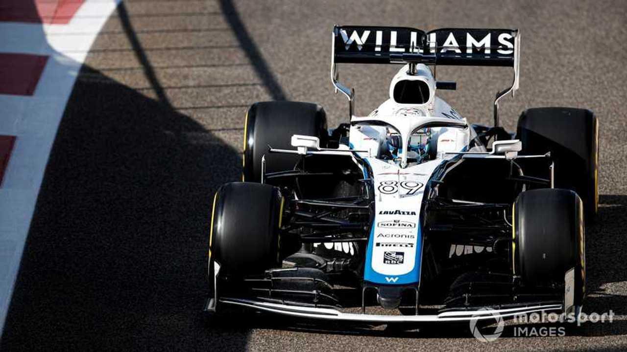 Jack Aitken at Abu Dhabi post season test 2020