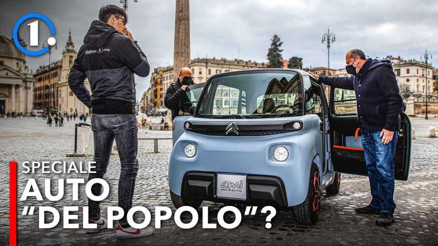L'auto elettrica del popolo sarà un quadriciclo?