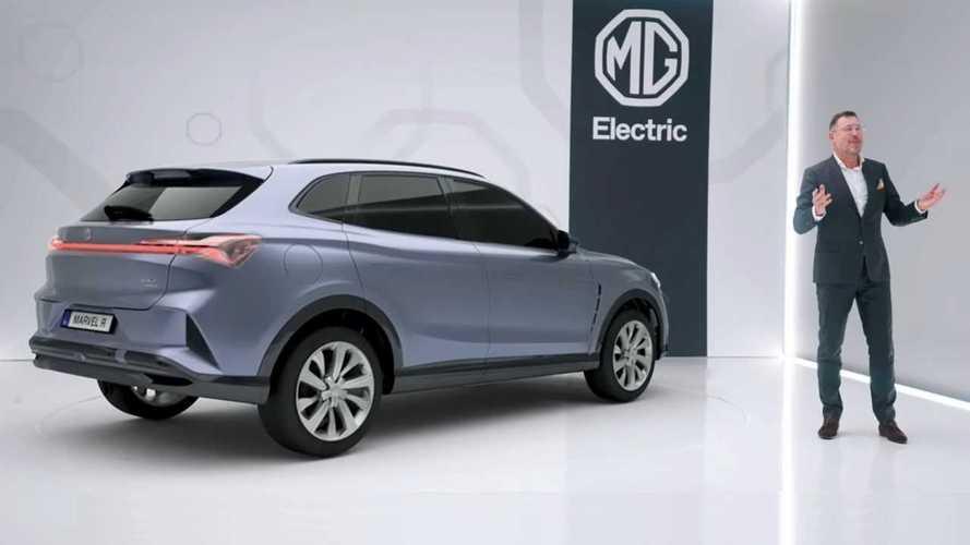 MG presenta due nuovi modelli per l'Europa, un SUV e una station wagon