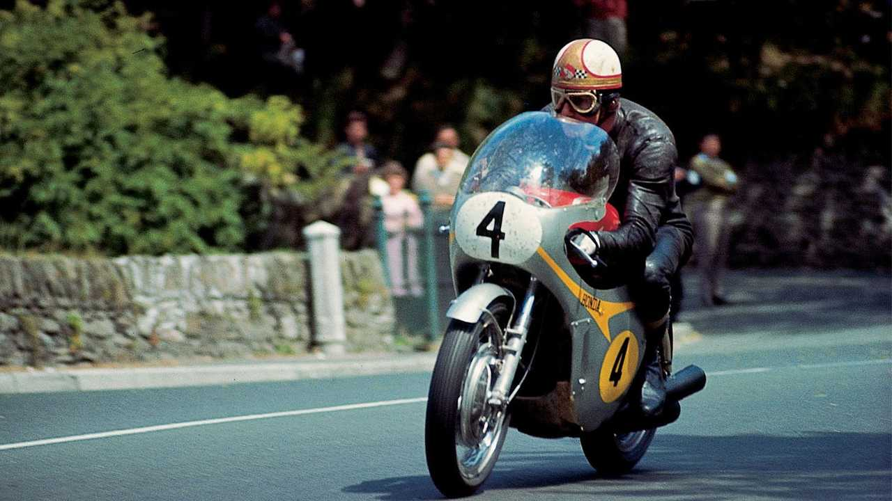 """Mike """"The Bike"""" Hailwood - Number 4"""