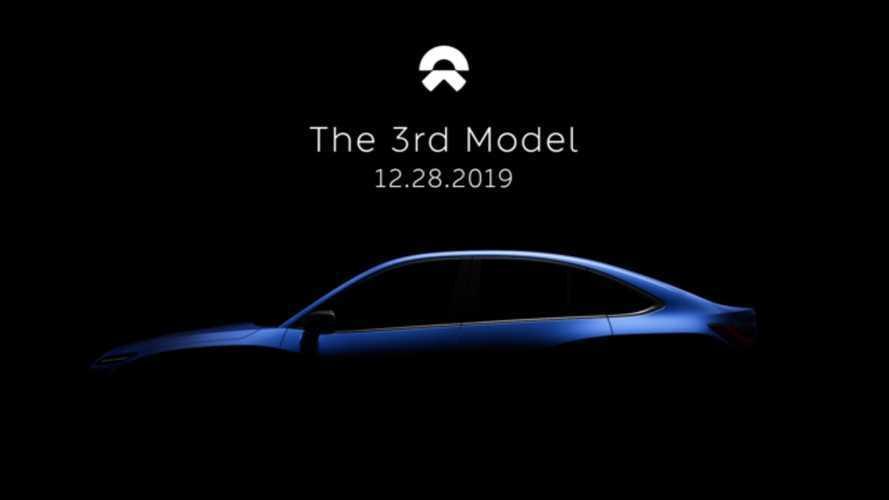 Nio'nun üçüncü elektrikli modeli, bir Tesla Model 3 rakibi olabilir