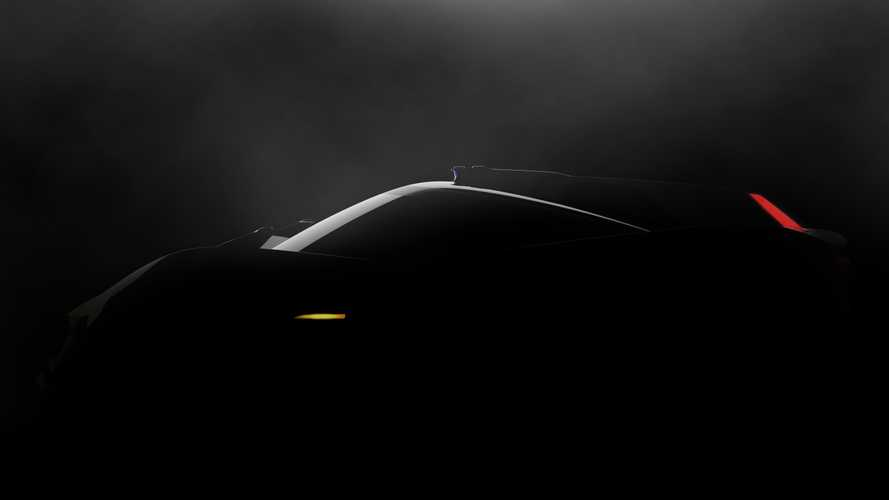 Minimalist Electric Sports Car Teased Ahead of Geneva Debut