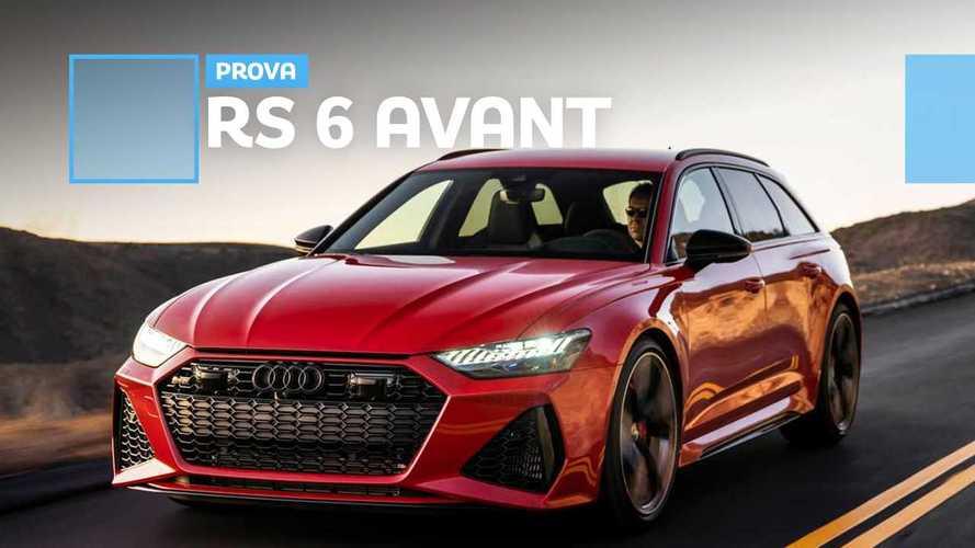 Audi RS 6 Avant, un missile per la famiglia