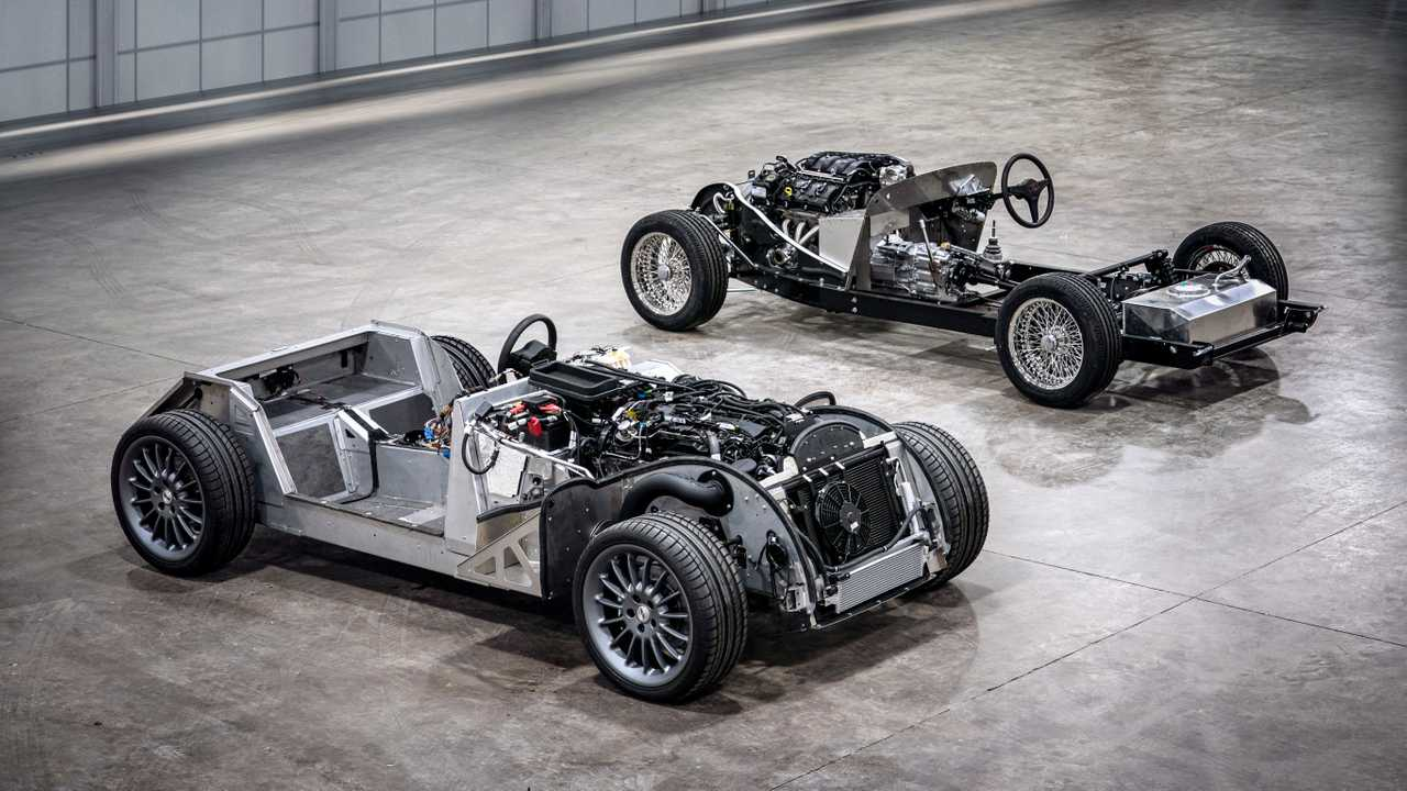 HERO Morgan CX-Generation platform and traditional steel chassis square, 2019