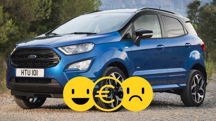 Promozione Ford EcoSport Connect 100 CV, perché conviene e perché no
