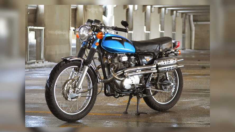 This 1972 Honda CL350 Is Ready To Scramble Into Your Heart