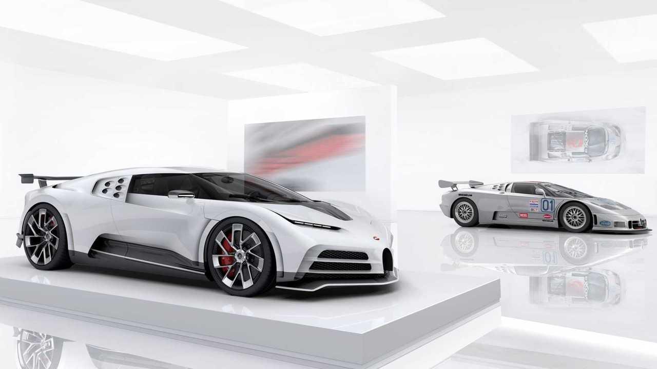 Bugatti Centodieci et EB110 Super Sport