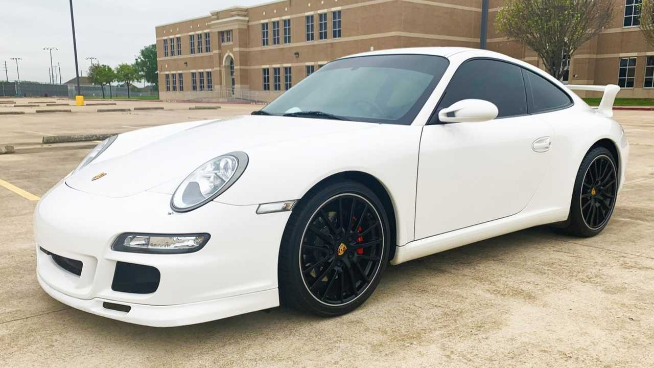 Center-Seat 2008 Porsche 911 Carrera