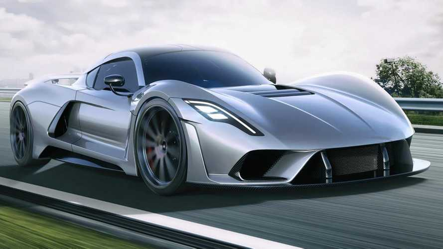 Hennessey Venom F5 Early Rendering Shows Hypercar's Initial Design