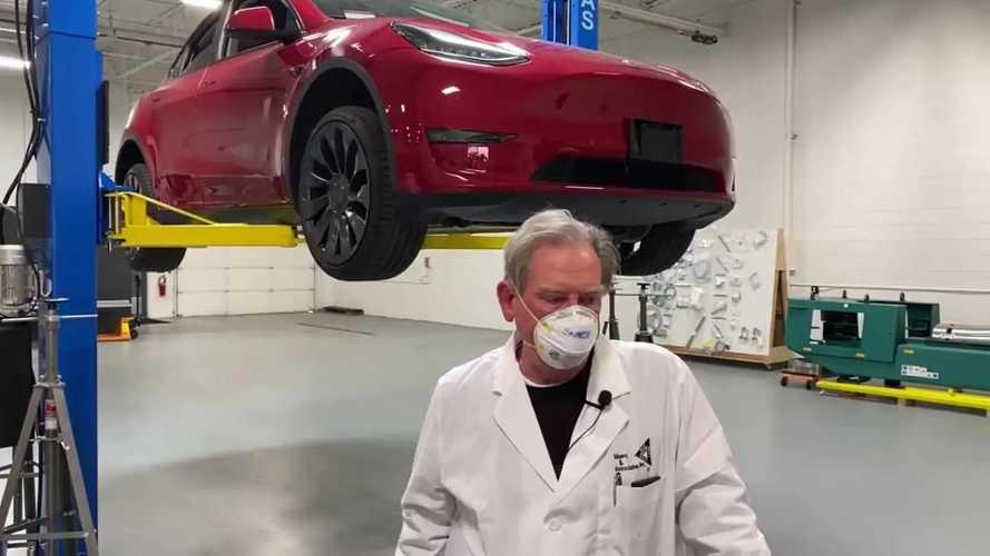Tesla Model Y Munro & Associates Teardown Reaches The Suspension