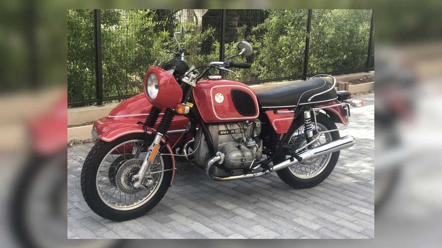 1974 BMW R90 /6 With Sidecar