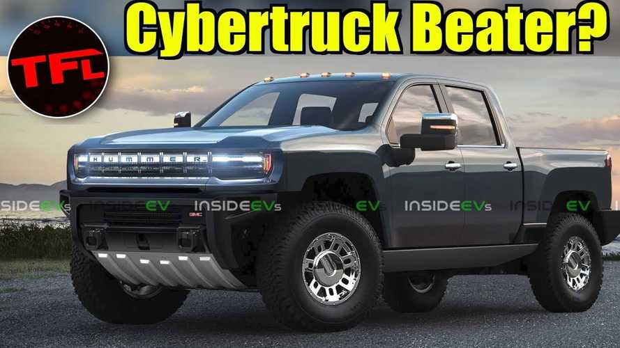 Can Upcoming GMC Hummer Electric Pickup Compete With Tesla Cybertruck?