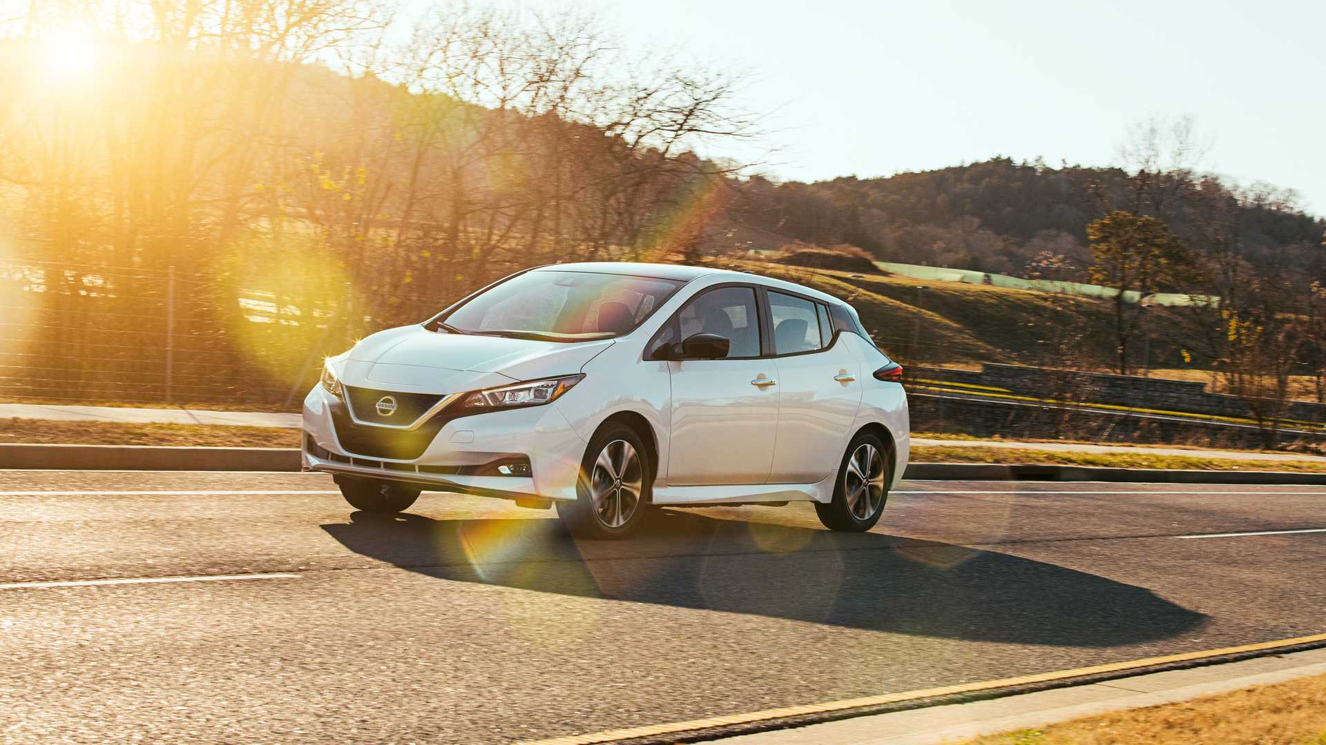 2020 nissan leaf starts at  31 600 and has more standard kit