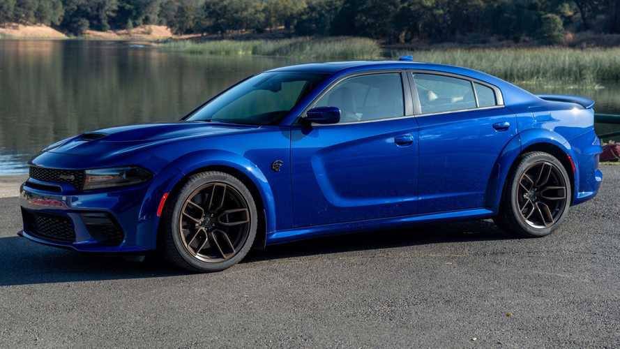 Dodge Charger SRT Hellcat Getting Funky On Brass Monkey Wheels