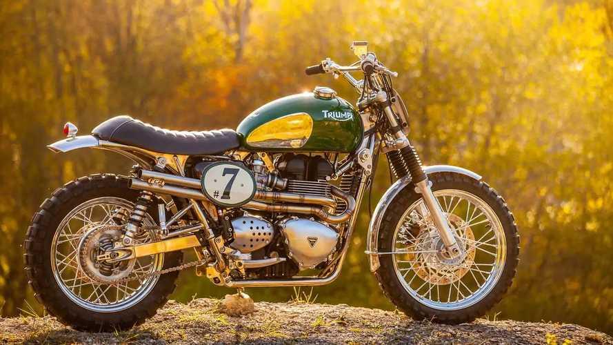 FCR Originals Green Legend Triumph Bonneville