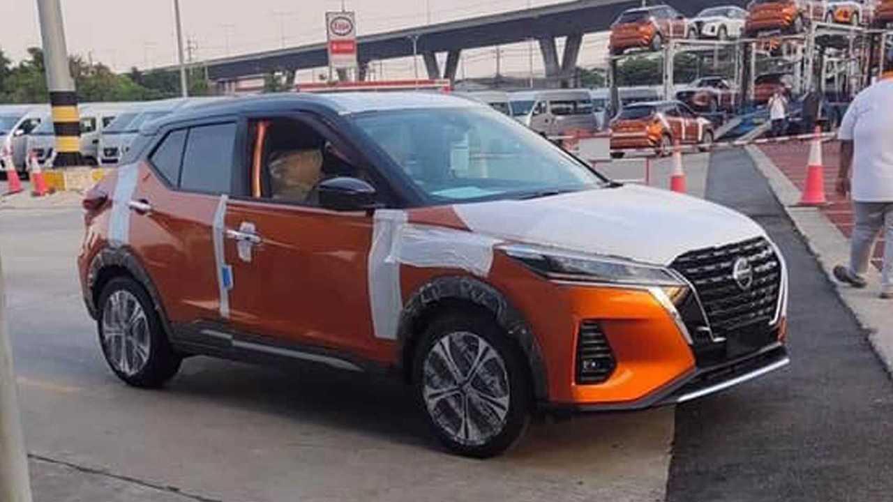 Nissan Kicks 2021 - Flagra sem camuflagem