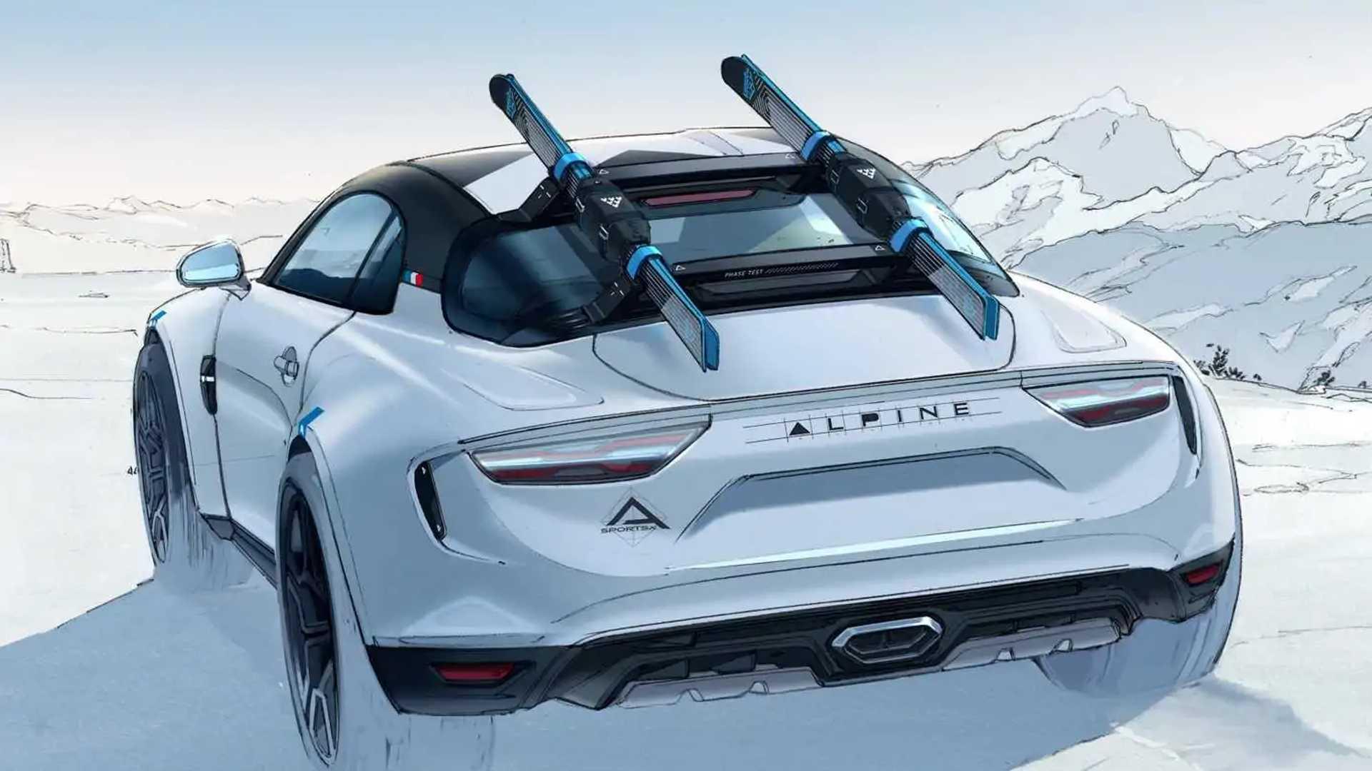 2020 - [Alpine] A110 Sports X Alpine-a110-sportsx