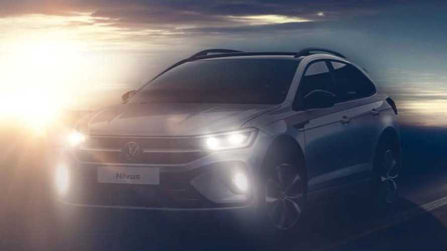 VW Nivus (2021): Neues Bild zeigt Front und Seite des Crossovers